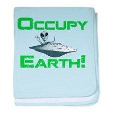 Occupy Earth! baby blanket