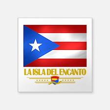 Puerto Rico (La Isla Del Ecanto).png Square Sticke