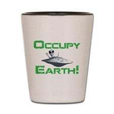 Occupy Earth! Shot Glass