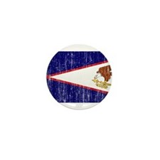 American Samoa Flag Mini Button