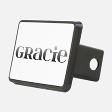 Gracie Carved Metal Hitch Cover