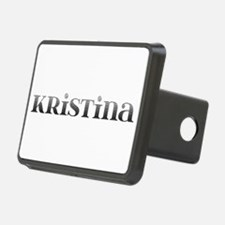 Kristina Carved Metal Hitch Cover