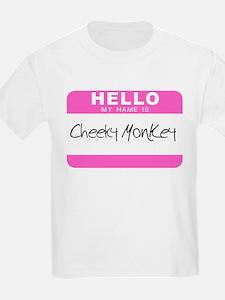 CHEEKY MONKEY Kids T-Shirt