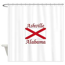 Ashville Alabama Shower Curtain