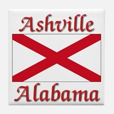 Ashville Alabama Tile Coaster