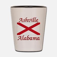 Ashville Alabama Shot Glass