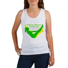 Yoga Full Boat Pose Women's Tank Top