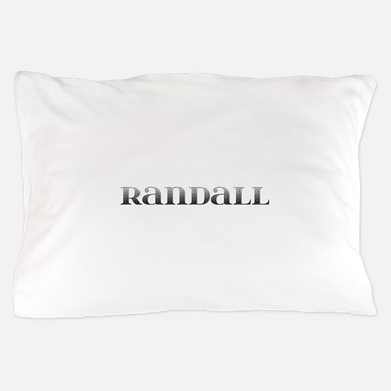 Randall Carved Metal Pillow Case