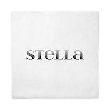 Stella Carved Metal Queen Duvet