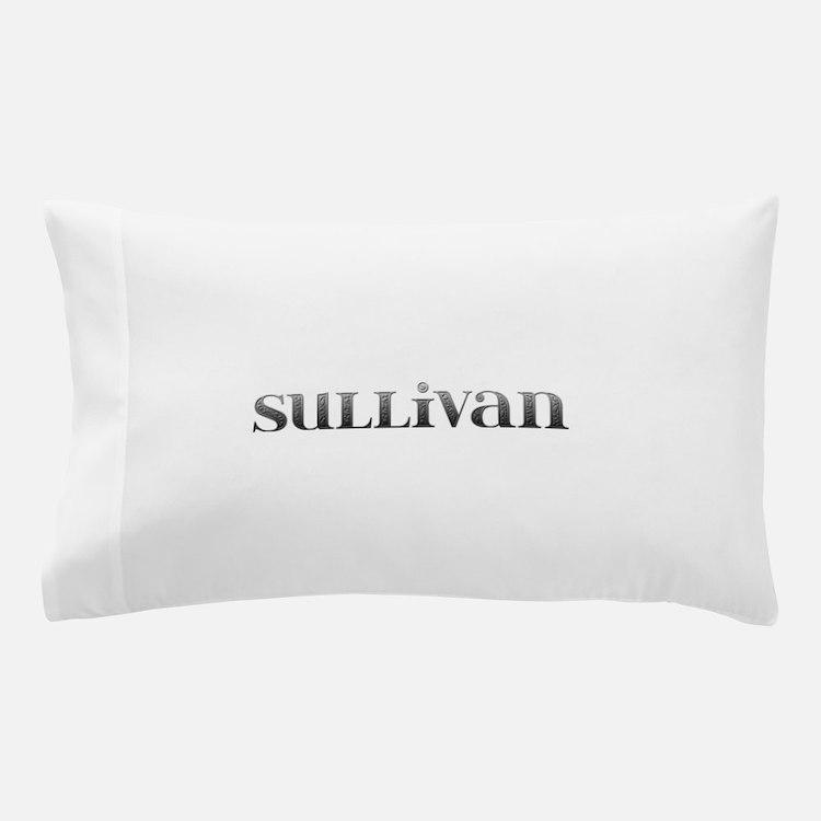 Sullivan Carved Metal Pillow Case