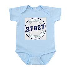 Corolla Zip Code Infant Bodysuit