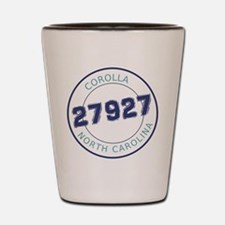 Corolla Zip Code Shot Glass