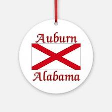Auburn Alabama Ornament (Round)