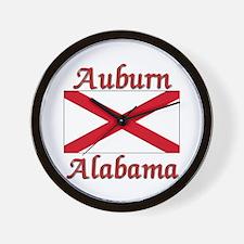 Auburn Alabama Wall Clock