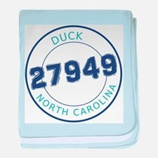 Duck Zip Code baby blanket