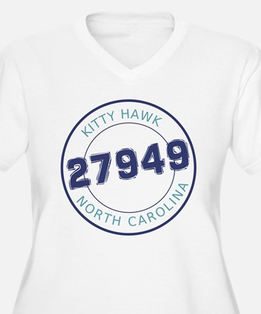 Kitty Hawk Zip Code T-Shirt