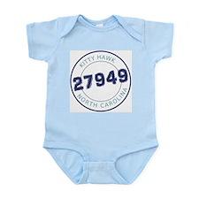 Kitty Hawk Zip Code Infant Bodysuit