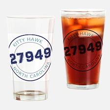 Kitty Hawk Zip Code Drinking Glass