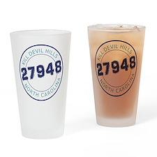 Kill Devil Hills Zip Code Drinking Glass