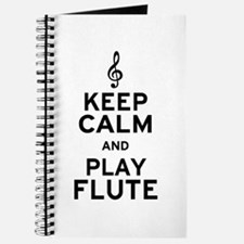 Keep Calm and Play Flute Journal