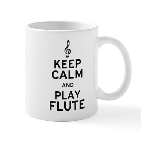 Keep Calm and Play Flute Mug