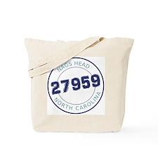 Nags Head Zip Code Tote Bag