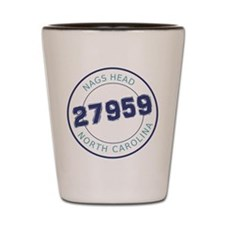 Nags Head Zip Code Shot Glass