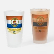 Bronx (Flag 10).png Drinking Glass