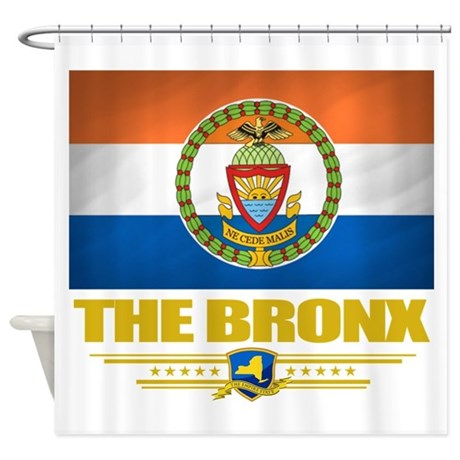 Bronx Flag 10 Png Shower Curtain By Nativeson2