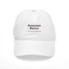 Grammar Police Baseball Cap
