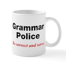 Grammar Police Small Mug