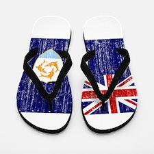 Anguilla Flag Flip Flops
