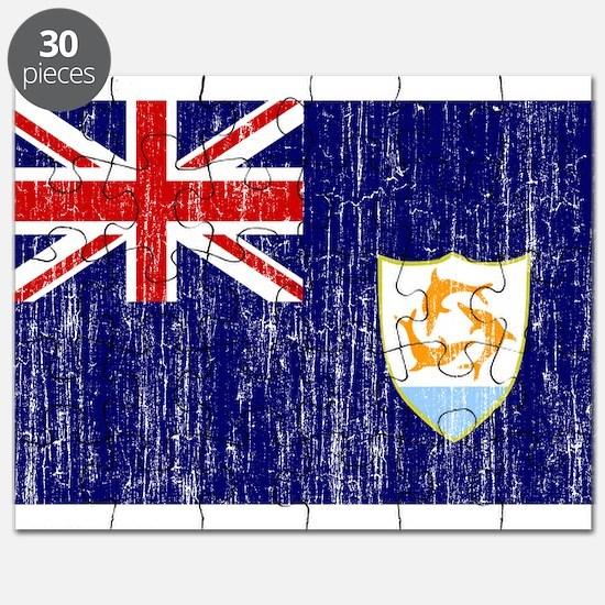Anguilla Flag Puzzle
