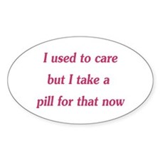 I used to care Decal