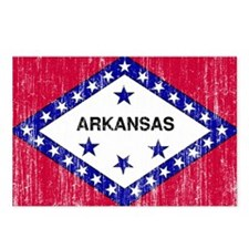 Arkansas Flag Postcards (Package of 8)