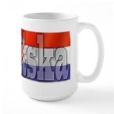 Silky Flag of Hrvatska Mug