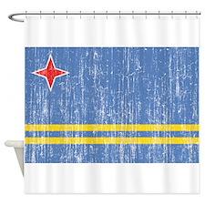Aruba Flag Shower Curtain