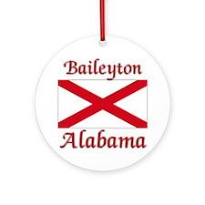 Baileyton Alabama Ornament (Round)