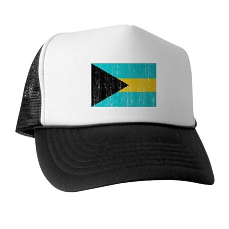 Bahamas Flag Trucker Hat