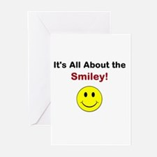Its all about the Smiley! Greeting Cards (Pk of 20