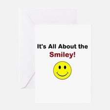 Its all about the Smiley! Greeting Card