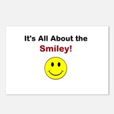 Its all about the Smiley! Postcards (Package of 8)