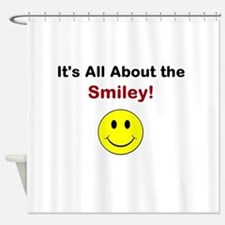 Its all about the Smiley! Shower Curtain