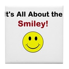 Its all about the Smiley! Tile Coaster