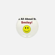 Its all about the Smiley! Mini Button (100 pack)