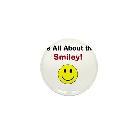 Its all about the Smiley! Mini Button (10 pack)