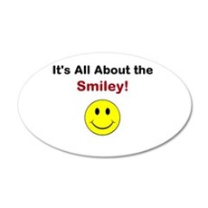 Its all about the Smiley! Wall Decal