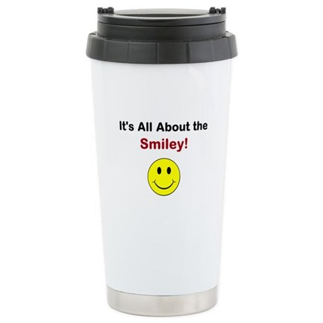 Its all about the Smiley! Stainless Steel Travel M
