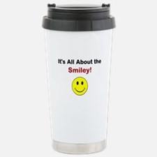 Its all about the Smiley! Travel Mug