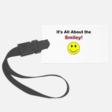 Its all about the Smiley! Luggage Tag